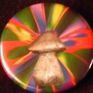 STONE PSYCHEDELIC SHROOM pinback button badge 1.25""