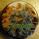 MARIJUANA CHRONIC pinback button badge 1.25""