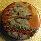 MARIJUANA TRAINWRECK pinback button badge 1.25""