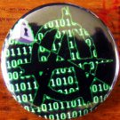 CRYPTO-ANARCHY pinback button badge 1.25""
