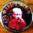 """PETER KROPOTKIN pinback button badge 1.25"""""""