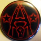 AK-47 ANARCHY pinback button badge 1.25""