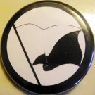 ANARCHO-PACIFIST FLAG pinback button badge 1.25""