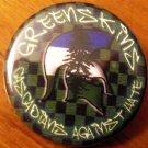 "GREENSKINS - CASCADIANS AGAINST HATE #2 pinback button badge 1.25"""