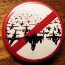 """ANTI-BOMBING pinback button badge 1.25"""""""