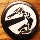 STOP THE COPS pinback button badge 1.25""