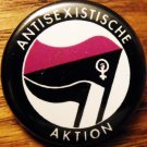 ANTISEXISTISCHE AKTION pinback button badge 1.25""