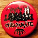 CHECKMATE pinback button badge 1.25""