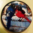 BIRDS OF DYSTOPIA pinback button badge 1.25""