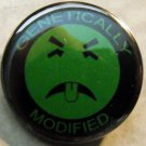GENETICALLY MODIFIED MR. YUCK pinback button badge 1.25""