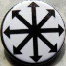 "CHAOS STAR pinback button badge 1.25"""