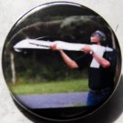 OBAMA DRONE SKEETING pinback button badge 1.25""