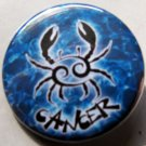 ASTROLOGY ZODIAC SIGN CANCER pinback button badge 1.25""