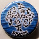ASTROLOGY ZODIAC SIGN PISCES pinback button badge 1.25""