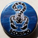 ASTROLOGY ZODIAC SIGN SCORPIO pinback button badge 1.25""
