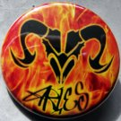 ASTROLOGY ZODIAC SIGN ARIES pinback button badge 1.25""