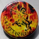 ASTROLOGY ZODIAC SIGN SAGITTARIUS pinback button badge 1.25""