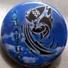 ASTROLOGY ZODIAC SIGN AQUARIUS pinback button badge 1.25""