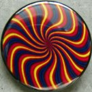 TRIPPY SPIRAL pinback button badge 1.25""