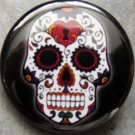 SUGAR SKULL #1 pinback button badge 1.25""