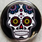 SUGAR SKULL #3 pinback button badge 1.25""