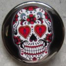 SUGAR SKULL #6 pinback button badge 1.25""