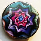 FRACTAL ART #3 pinback button badge 1.25""