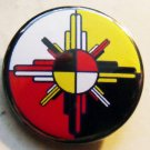 MEDICINE WHEEL pinback button badge 1.25""