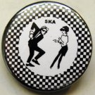 SKA pinback button badge 1.25""