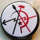 """ANARCHO ARTIST pinback button badge 1.25"""""""