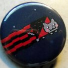 SYNDICALIST NYANCAT pinback button badge 1.25""