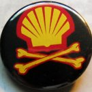 ANTI-SHELL pinback button badge 1.25""