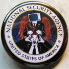 NSA pinback button badge 1.25""