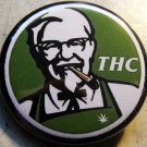 KFC THC pinback button badge 1.25""