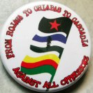 FROM ROJAVA TO CHIAPAS TO CASCADIA pinback button badge 1.25""