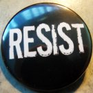 RESIST pinback button badge 1.25""