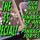 THE $5 SPECIAL!
