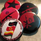 5 IRPGF PINBACK BUTTONS!  1.25""