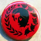 ROSA LUXEMBURG - BREAD & ROSES  pinback button badge 1.25""