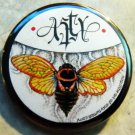 """The Art of Asty #1 pinback button badge 1.75"""""""