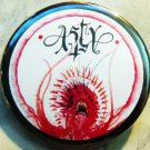 """The Art of Asty #2 pinback button badge 1.75"""""""