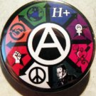 PATHS OF ANARCHY #2   pinback button badge 1.25""