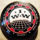 I.W.W. - INDUSTRIAL WORKER OF THE WORLD #2 pinback button badge 1.25""