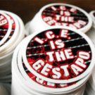 "100 I.C.E. IS THE GESTAPO 2.5"" stickers"
