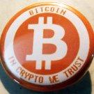 """BITCOIN #4   pinback button badge 1.25"""""""