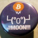 BITCOIN #5   pinback button badge 1.25""