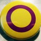 "INTERSEX pinback button badge 1.25"""
