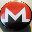 "MONERO pinback button badge 1.75"""