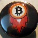 """BITCOIN #7 pinback button badge 1.75"""""""