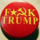"""FUCK TRUMP H&S pinback button badge 1.25"""""""